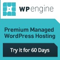 WP Engine hosting banner